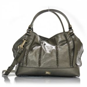 Burberry Lawrence Metallic Pewter